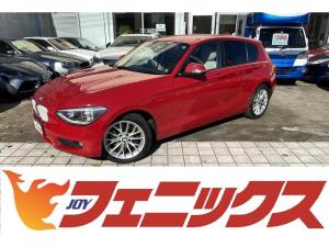 BMW 1シリーズ 116i ファッショニスタ 限定490台!ドライビングアシストパッケージ!メーカーHDDナビ!バックカメラ!Bluetooth!アイドリングストップ!白本革シート!シートヒーター!キセノンライト!プッシュスタート!走行2.6万K