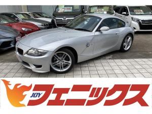 BMW Z4 Mクーペ 6速マニュアル!走行1.0万KM!メーカーHDDナビ!DVD再生!Mサーバー!Bカメラ!黒本革シート!パワーシート!キセノンライト!6速MT!電格ミラー!キーレス!