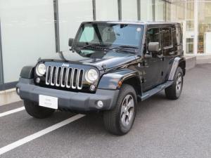 クライスラー・ジープ ジープ・ラングラーアンリミテッド サハラ 認定中古車保証 バックカメラ ETC レザーシート(シートヒーター付き)