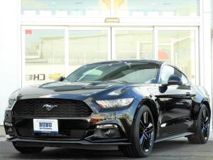 フォード マスタング 50イヤーズ エディション 正規ディーラー車 社外ナビ ETC バックカメラ ブラックレザー シートヒーター・ベンチレーション 2.3Lターボ パワーシート スマートキー HIDヘッドライト 19インチ純正AW