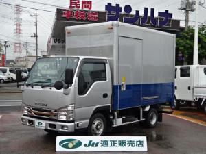 いすゞ エルフトラック アルミバン カスタム 3.0Dターボ スムーサーEx