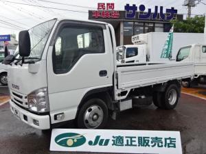 いすゞ エルフトラック 2t積載10尺フルフラットロー 3.0DT スムーサーEx