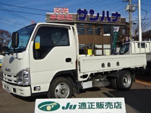 いすゞ エルフトラック フルフラットロー 1.5t積載 10尺平ボディ スムーサーEx 3.0Dターボ SKG-NHR85A キーレス ETC ASR