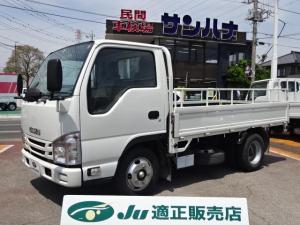 いすゞ エルフトラック フルスーパーロー 2t積載10尺平ボディ 3.0Dターボ 5F TPG-NJR85A 電動格納ミラー キーレス ETC