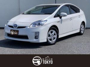 トヨタ プリウス S ワンオーナー/禁煙車/Bカメラ/ETC/スペアキー/純正ナビ/前期型