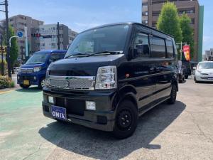 スズキ エブリイワゴン PZターボ ナビ ユーザー買取 4WD
