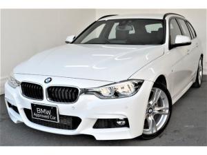 BMW 3シリーズ 318iツーリング Mスポーツ Mスポーツ 黒レザーシート ワンオナ 禁煙 バックカメラ 電動テールゲート 障害物センサー