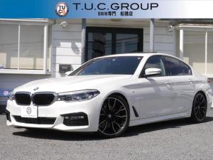 BMW 5シリーズ 523dMスポーツ サンルーフ 追従ACC LED 2年保証