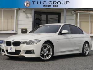 BMW 3シリーズ 320dMスポーツ 追従ACC 衝突軽減 1オナ 2年保証