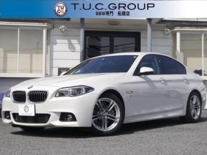 BMW 5シリーズ 523iMスポーツ 後期追従ACC LED 地デジ 2年保証