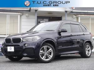 BMW X5 xDrive 35d Mスポーツ セレクトパッケージ パノラマサンルーフ 全席ヒーター黒革 追従ACC LEDヘッドライト ソフトクローズドア 衝突軽減ブレーキ 車線逸脱警告 歩行者警告 地デジTV 360度カメラ 2年保証!