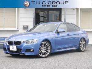 BMW 3シリーズ 330eMスポーツ1オナサンR茶革追従ACCLCW 2年保証