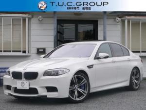 BMW M5 M5MDCT Mドライブ右H 黒革SR20AWHUD2年保証