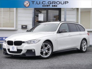 BMW 3シリーズ 320dブルーパフォーマンス ツーリング Mスポーツ Mパフォーマンス仕様 エアロ 18AW iドライブHDDナビ Bカメラ Bluetoothオ-ディオ&通話 パドルS 電動リアゲ-ト スマ-トオ-プン スマ-トキ- 2年保証付