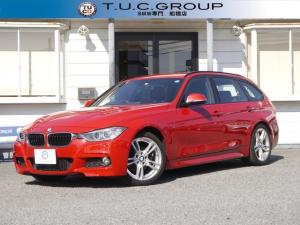 BMW 3シリーズ 320dブルーパフォーマンス Mスポーツ アイドリングストップ 8速AT ECOPROモード 電動リアゲート 8速AT スマートキー 純正iドライブナビ DVD再生 Mサーバー Bluetoothオーディオ&通話 エアロ18AW 2年保証