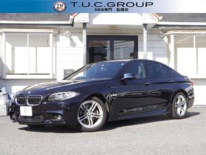 BMW 5シリーズ 523i Mスポーツ 16y後期 追従ACC レーンチェンジ警告 衝突軽減ブレーキ 車線逸脱警告 歩行者警告 タッチパッドiドライブHDDナビ 地デジTV Bluetooothオーディオ&ハンズフリー通話 2年保証