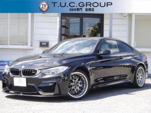 BMW M4 M4クーペ MDCT ドライブロジック シルバーストーン革 VOGLANDダウンサス BBS RSーGT19AW カーボンリップスポイラー カーボンルーフ LEDヘッドライト HUD 衝突軽減ブレーキ 2年保証