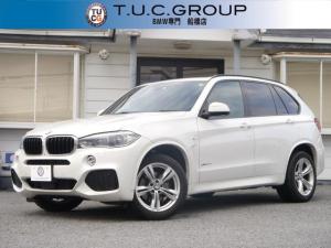 BMW X5 xDrive 35d Mスポーツ 1オーナー 3列7人乗り セレクトP 追従ACC 衝突軽減 歩行者警告 車線逸脱警告 パノラマSR 全席ヒ-タ-黒革 ソフトクロ-ジャ-ドア LED/H 360度カメラ 電動トランク 2年保証