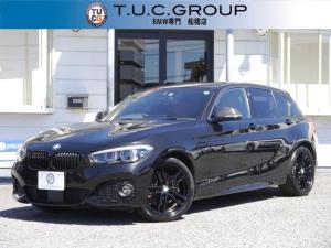 BMW 1シリーズ 118d Mスポーツ エディションシャドー 限定車 追従ACC コニャック革 ダークLEDヘッドライト ジェットブラック18AW 衝突軽減ブレーキ 車線逸脱&歩行者警告 NEWタッチパネルナビ Bluetoothオーディオ Pアシスト 2年保証