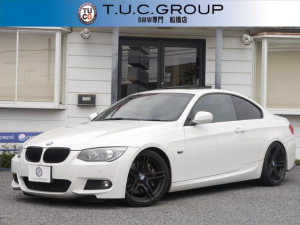 BMW 3シリーズ 335i Mスポーツパッケージ 最終型 N55B30Aエンジン 7速DCT 右ハンドル サンルーフ 黒革 オプション19AW KW車高調 HDDナビ地デジ aFeエアクリーナー M3仕様Rエアロ パドルシフト クルコン 2年保証