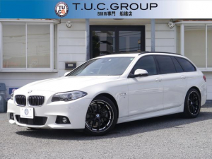 BMW 5シリーズ 523iツーリング Mスポーツ 1オナ 後期 パノラマSR 19AW 追従ACC 衝突軽減ブレーキ 歩行者警告 車線逸脱警告 電動トランク スマートキー パドルS 地デジ Bカメ Bluetooth音楽 スマートオープン 2年保証