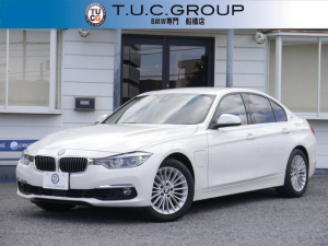 BMW 3シリーズ 330eラグジュアリーアイパフォーマンス 1オナ 追従ACC レーンCW ヒーター茶革 LEDヘッドライト インテリセ-フ DSRC edriveモード Bluetoothオーディオ iドライブHDDナビ Bカメラ スマートキー 2年保証