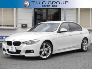 BMW 3シリーズ 330e Mスポーツ PHEV 追従ACC レーンチェンジ警告 衝突軽減ブレーキ 車線逸脱警告  歩行者警告 Bluetoothオーディオ 純正HDDナビ スマートキー Bカメラ LED/H&フォグ 8速AT 2年保証