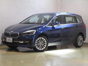 BMW 2シリーズ 218iグランツアラー ラグジュACC  黒革 電動トランク