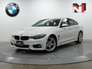 BMW 4シリーズ 420iグランクーペ Mスポーツ 18AW ACC パドル