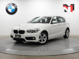 BMW 1シリーズ 118i スポーツ 16インチAW クルーズコントロール Rカメラ Rセンサー LED 衝突警告 車線逸脱  USB AUX