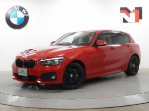 BMW 1シリーズ 118d Mスポーツ エディションシャドー 18インチAW アクティブクルーズコントロール Rカメラ FRセンサー LED 衝突警告 車線逸脱 ブラックホイール フロントシートヒーター