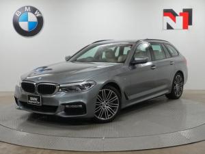 BMW 5シリーズ 540i xDriveツーリング Mスポーツ 19インチAW キャンベラベージュ内装 アクティブクルーズコントロール パドルシフト ヘッドアップディスプレイ 全周囲カメラ FRセンサー 全周囲カメラ 衝突軽減 車線逸脱