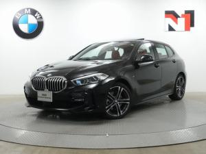 BMW 1シリーズ 118i Mスポーツ 18インチAW 電動パノラマサンルーフ マグマレッドレザー内装 ハイラインパッケージ アクティブクルーズコントロール Rカメラ LED 衝突軽減 車線逸脱 USB Harman/Kardon