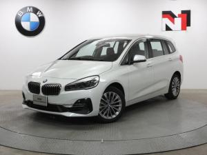 BMW 2シリーズ 218iグランツアラー ラグジュアリー 17インチAW アクティブクルーズコントロール Rカメラ FRセンサー ヘッドアップディスプレイ LED 衝突軽減 車線逸脱 USB フロントシートヒーター