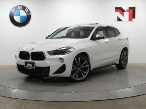 BMW X2 M35i 20インチAW 電動ガラスサンルーフ アクティブクルーズコントロール パドルシフト LED 衝突軽減 車線逸脱