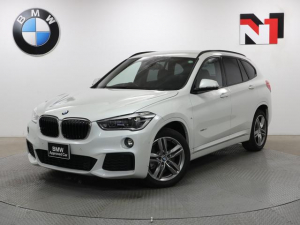 BMW X1 xDrive 20i Mスポーツ 18インチAW Rカメラ FRセンサー LED 衝突警告 車線逸脱 フロントシートヒーター 電動リヤゲート 電動フロントシート