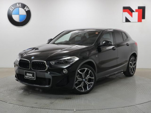BMW X2 sDrive 18i MスポーツX 19インチAW 7速DCT Rカメラ FRセンサー LED 衝突警告 車線逸脱 USB 純正HDDナビゲーション