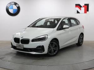 BMW 2シリーズ 218dアクティブツアラー スポーツ 17インチAW コンフォートパッケージ Rカメラ FRセンサー LED 衝突警告 車線逸脱 USB フロントシートヒーター 電動リヤゲート コンフォートアクセス