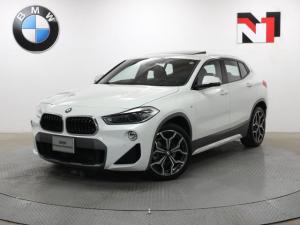 BMW X2 sDrive 18i MスポーツX 19AW 電動ガラスサンルーフ コンフォートパッケージ セレクトパッケージ アクティブクルーズコントロール LED 衝突軽減 車線逸脱 ヘッドアップディスプレイ Rカメラ FRセンサー