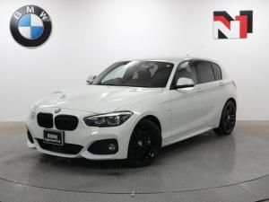 BMW 1シリーズ 118i Mスポーツ エディションシャドー 18インチAW アップグレードパッケージ アクティブクルーズコントロール Rカメラ FRセンサー LED 衝突軽減 車線逸脱 USB