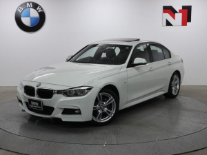 BMW 3シリーズ 320i Mスポーツ 18AW セレクトパッケージ アクティブクルーズコントロール パドルシフト Rカメラ FRセンサー LED 衝突軽減 車線逸脱 USB フロントシートヒーター コンフォートアクセス