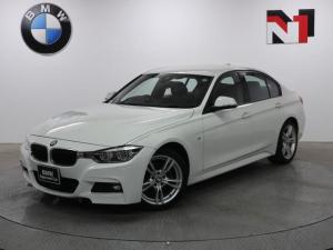 BMW 3シリーズ 320i Mスポーツ 18インチAW アクティブクルーズコントロール パドルシフト Rカメラ FRセンサー LED 衝突警告 車線逸脱 USB コンフォートアクセス