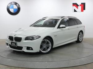 BMW 5シリーズ 523dツーリング Mスポーツ 18インチAW 電動パノラマガラスサンルーフ アクティブクルーズコントロール Rカメラ FRセンサー キセノン 衝突軽減 車線逸脱 USB 電動リヤゲート