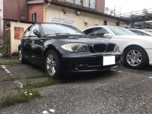 BMW 1シリーズ 120i 社外ナビ ETC 純正アルミ オートエアコン