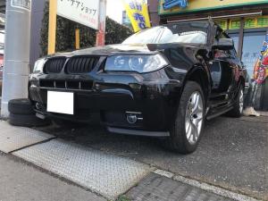 BMW X3 2.5i ナビ キーレス ETC パワーシート シートヒーター アルミ 4WD