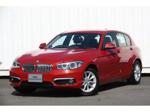 BMW 1シリーズ 118d スタイル 後期 ホワイトハーフレザー タッチパネルナビ  バックカメラ 自動縦列駐車アシスト 歩行者警告 車線逸脱警告 衝突被害軽減ブレーキ Bluetooth