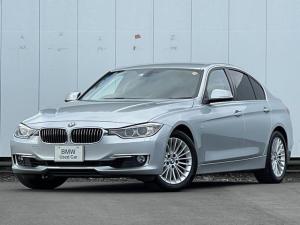BMW 3シリーズ 320iラグジュアリー Luxury ブラックレザー シートヒーター ウッドパネル HDDナビバックカメラ Bluetooth ミュージックコレクション 禁煙車