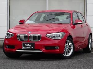 BMW 1シリーズ 116i スタイル パーキングサポートP 半白革 禁煙