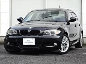 BMW 1シリーズ 116i Mスポーツパッケージ 社外ナビゲーション 社外地上デジタルテレビチューナー 社外バックカメラ 社外ETC 社外ドライブレコーダー 社外フロアマット キセノンヘッドライト 17インチアルミホイール 禁煙