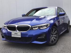 BMW 3シリーズ 320i Mスポーツ アクティブクルーズコントロール ドライブアシスト LEDライト リアカメラ パークディスタンスコントロール ETC車載器 Blue-Tooth 外部入力端子 コンフォートアクセス 禁煙車